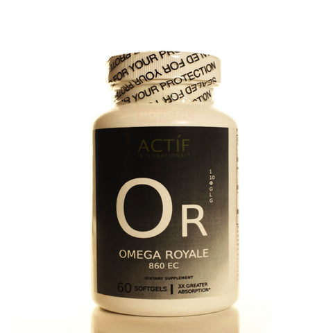 Actíf International® Omega Royale 860 EC™ - 60 Softgels - Patented Formula