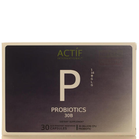 Actíf International® Probiotics 30B™ - 30 Acid-Resistant Veggie Caps - Patented Formula