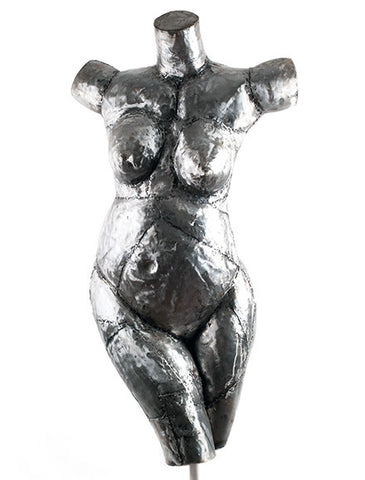 Womens form in Junk Metal