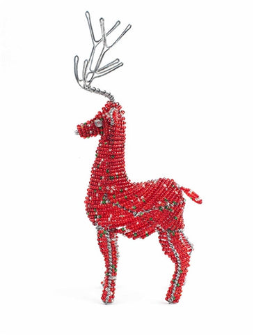 Beaded Christmas Reindeer
