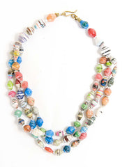 Multi-coloured Princess Necklace