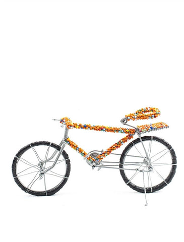 Glass beaded Push bike