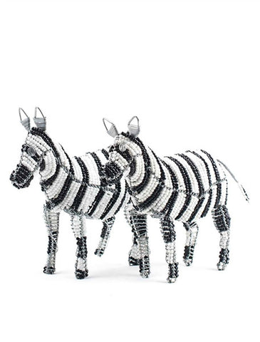 Glass beaded Zebra