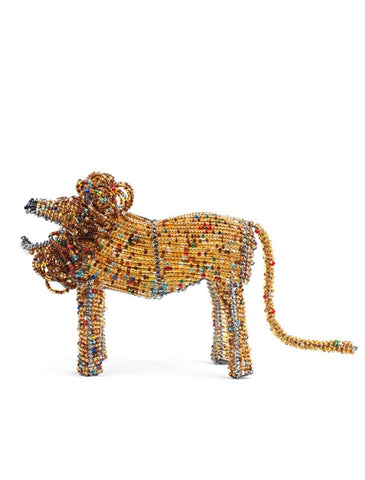 Glass beaded Lion