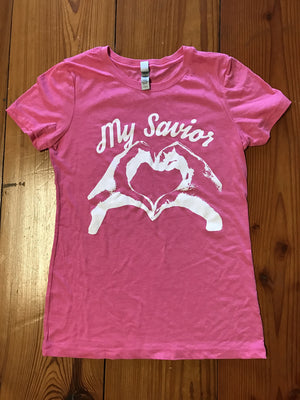 My Savior Pink T-Shirt