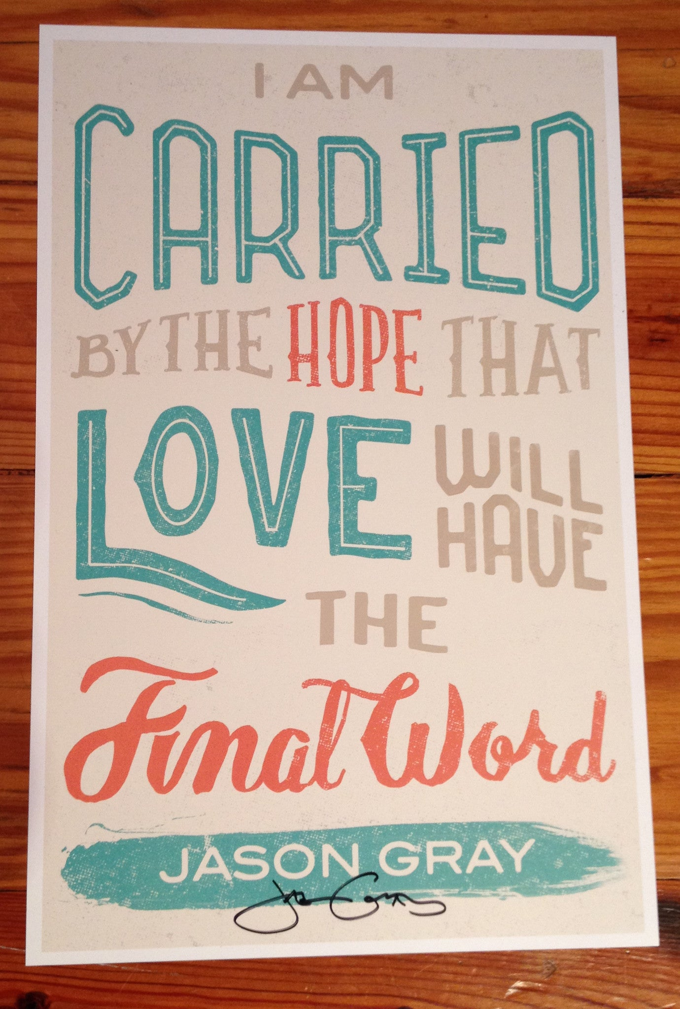 Love Will Have The Final Word Poster
