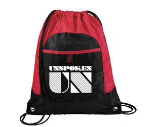 UN Logo Drawstring Bag
