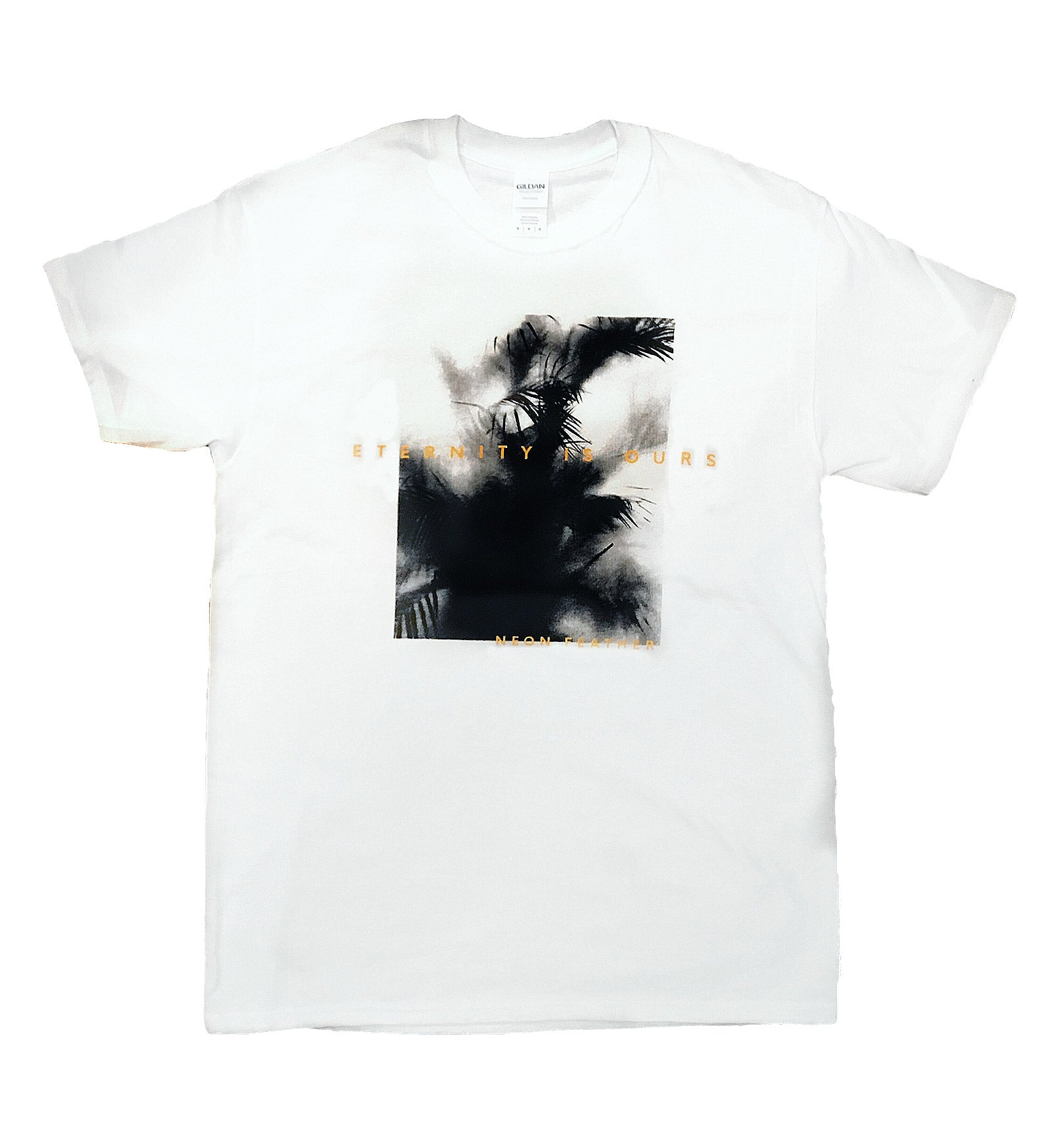 "White ""Eternity Is Ours"" Tee"