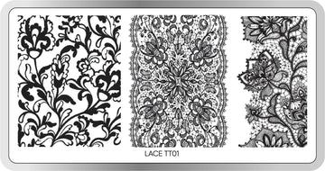 Lace Stamping Plate