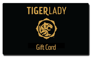 TigerLady Printable Gift Card