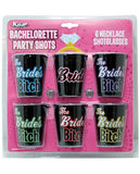 BACHELORETTE'S PARTY SHOTS THE BRIDE'S BITCHES 6 PACK