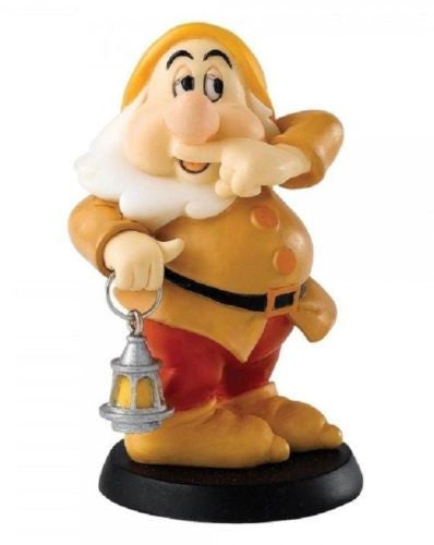 ENESCO DISNEY ENCHANTING COLLECTION SNEEZING DWARF SNEEZY FIGURINE SNOW WHITE