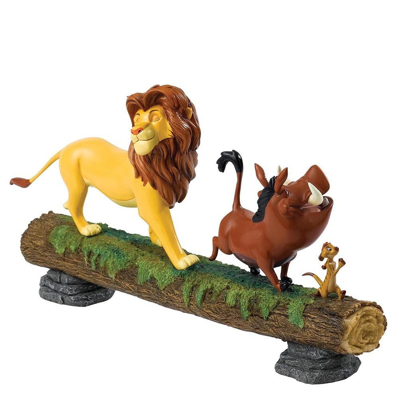 Disney Enchanting Lion King Simba Pumbaa and Timon Hakuna Matata