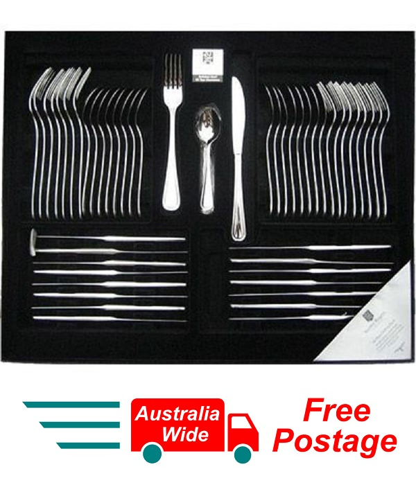 56 Piece Cutlery Set Stainless Steel STANLEY ROGERS SHEFFIELD NEW RRP $269