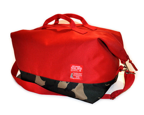 Code Red Traveler Duffle Bag - CHRiS CARDi House of Design
