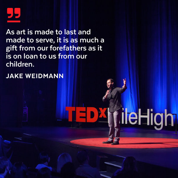 In a world of instant gratification, don't forget your LEGACY | My latest TEDx Talk