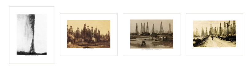 All Four Prints in the Spindletop Series