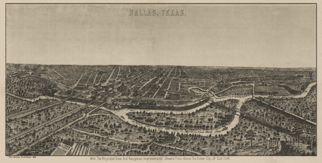 Dallas in 1892