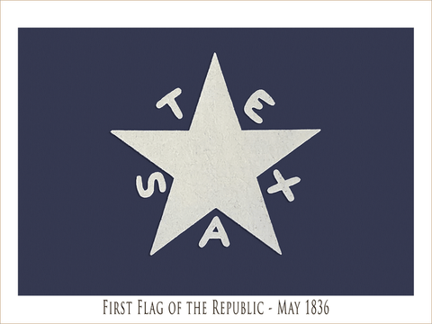 Flags of the Texas Revolution - Six Print Collection