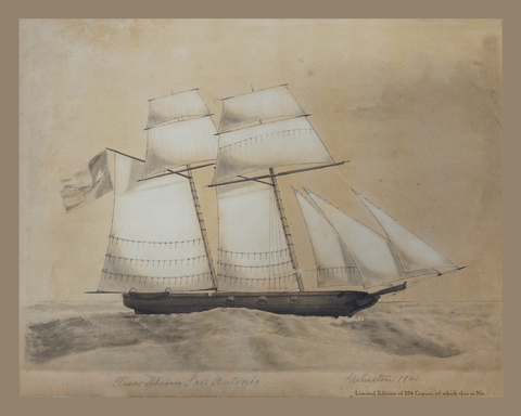Schooner-of-war San Antonio - 1841