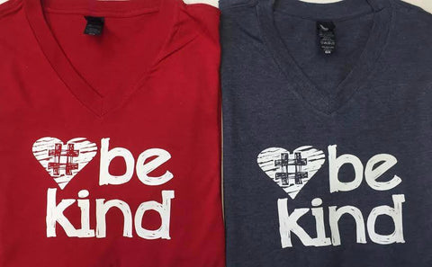 Be Kind  V-Neck T-Shirt