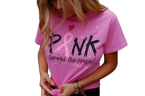 Breast Cancer Awareness Pink T-Shirt
