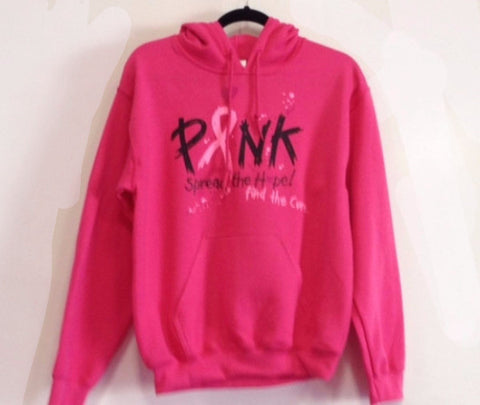 Breast Cancer Awareness Hooded Sweatshirt
