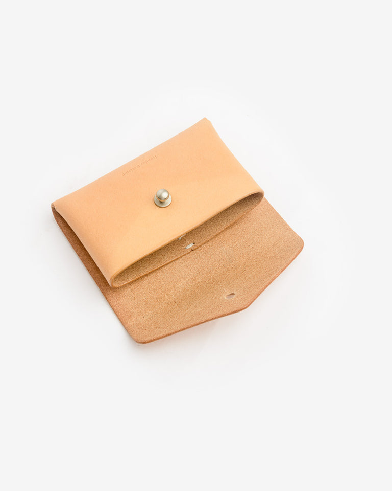 One Piece Card Case in Natural