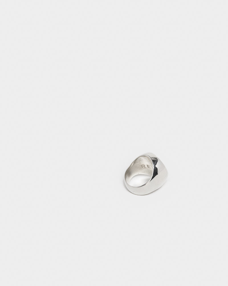 Heavy Signet Ring in Silver by Matt Ready- Mohawk General Store