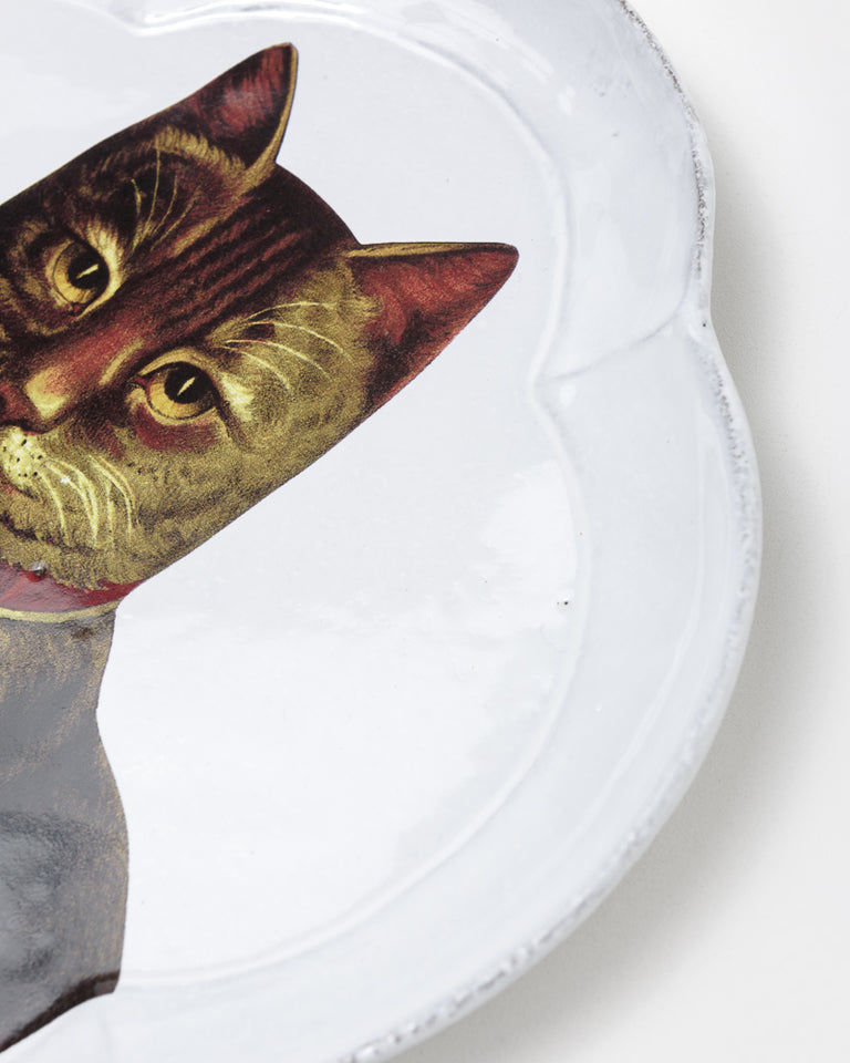 John Country Cat Dinner Plate