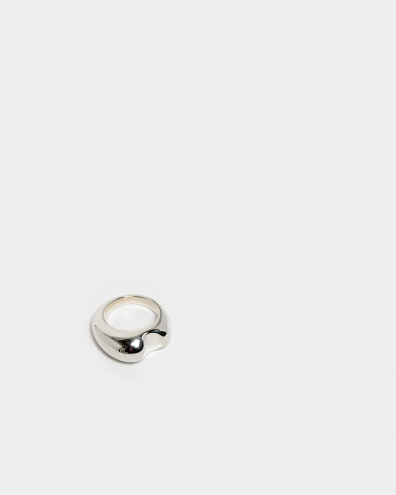 Bite Ring in Sterling Silver