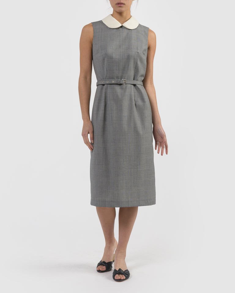 Sleeveless Dress in Grey