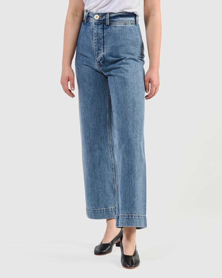 Sailor Pant in Cowboy Blue