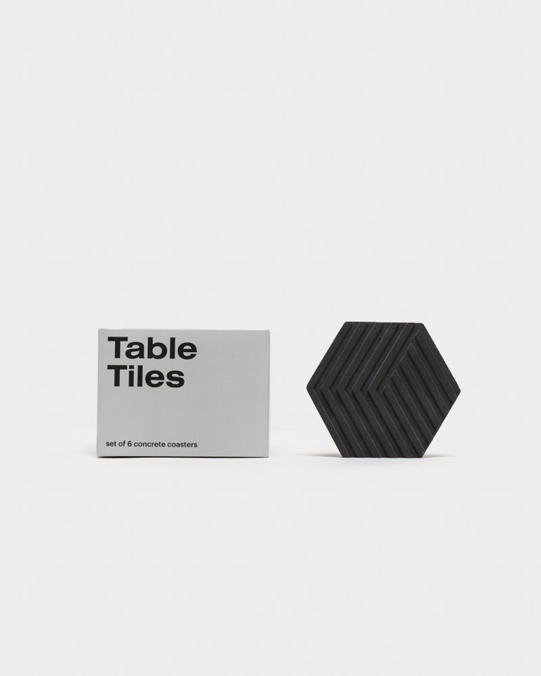 Concrete Table Tiles