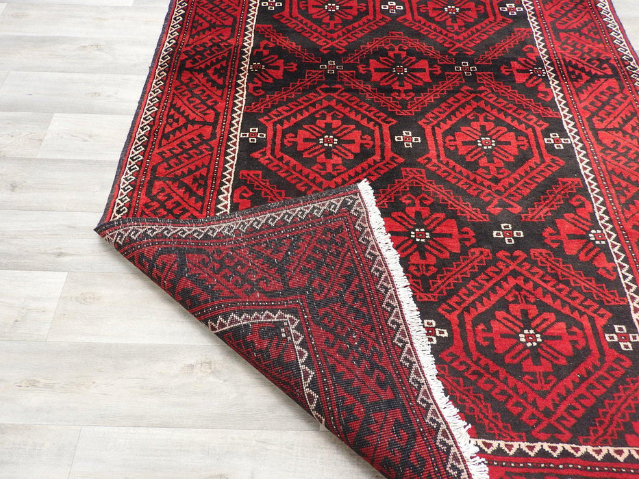 Persian Hand Knotted Baluchi Rug Size: 310 x 155cm