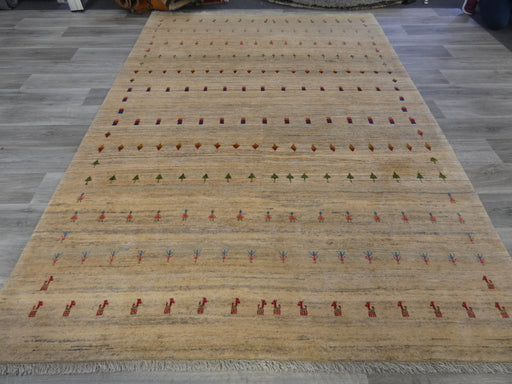 Authentic Persian Hand Knotted Gabbeh Rug Size: 300 x 216cm