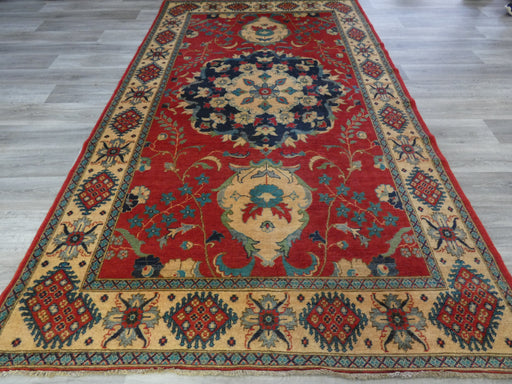 Afghan Hand Knotted Kazak Rug Size: 303 x 180cm