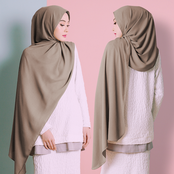 Plain Shawl (Brown)