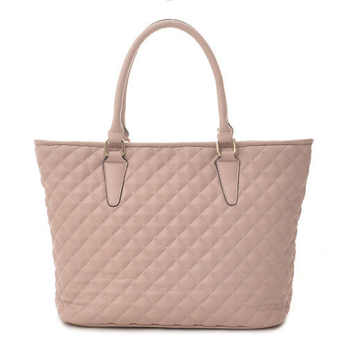 Pink Quilted Bag