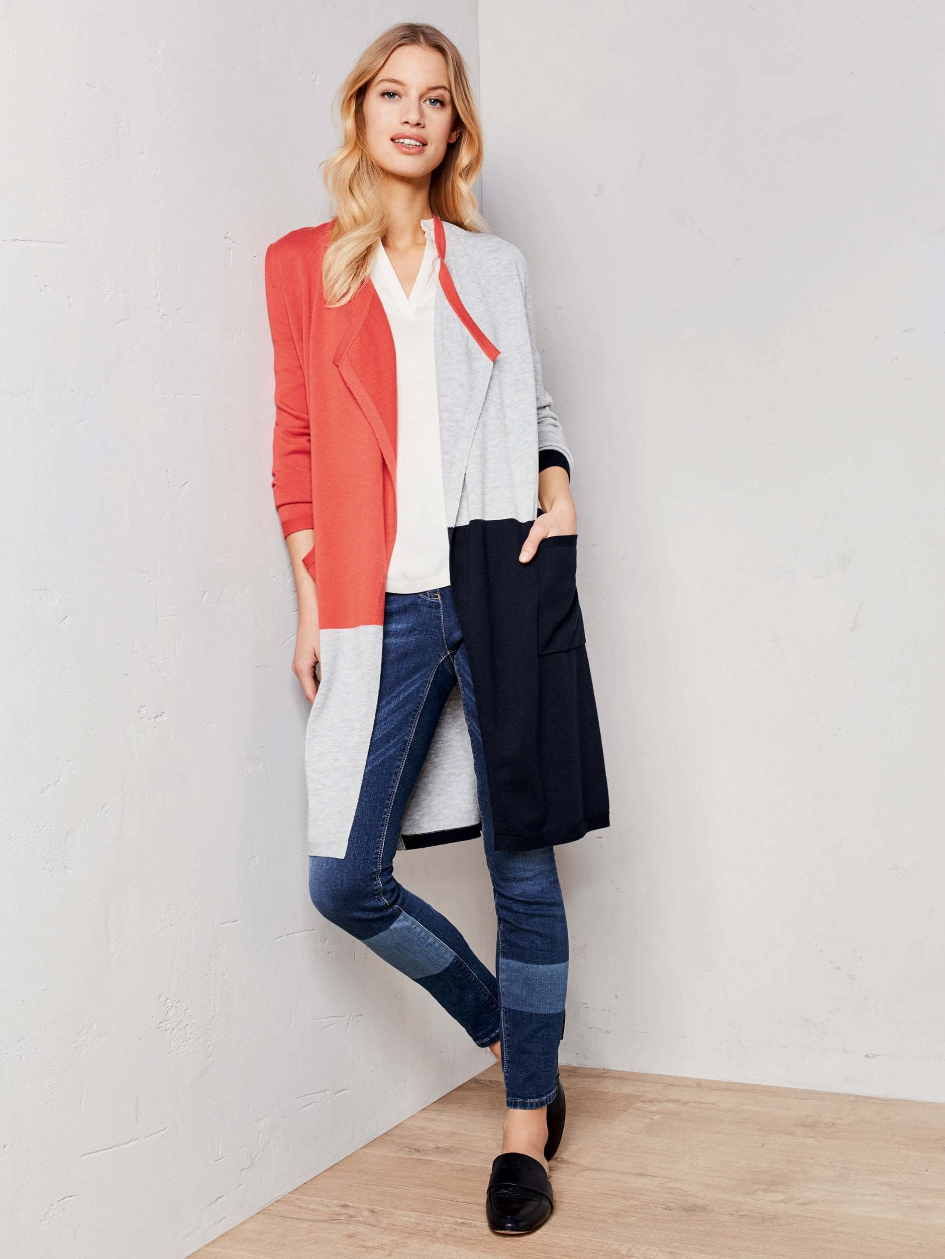 Gerry Weber Colour Block Cardigan