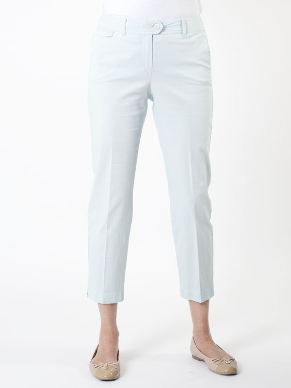 Gerry Weber Aqua 'Patrizia' Stretch Cotton Crop Trousers