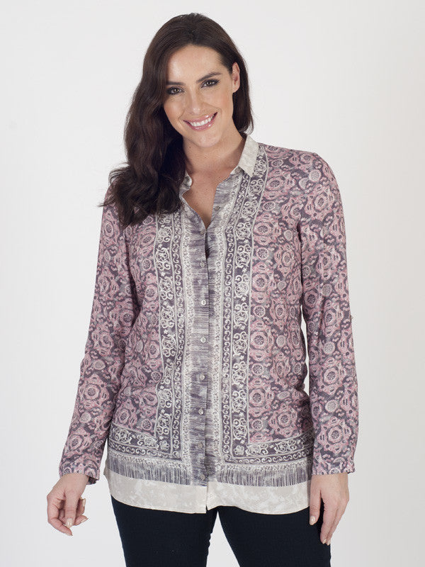 Gerry Weber Panel-printed Blouse