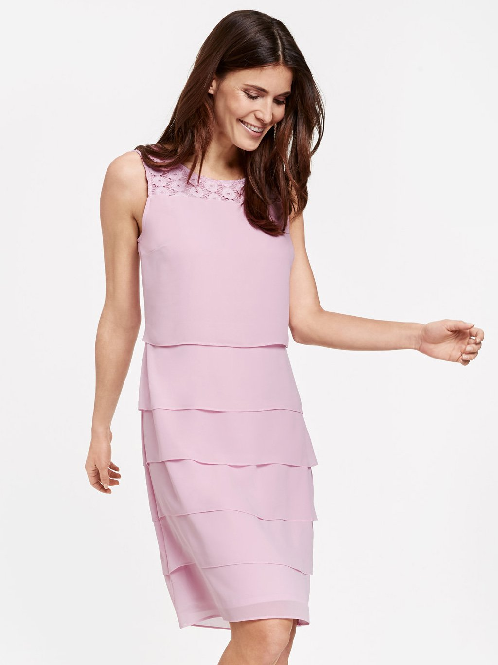 Gerry Weber Lilac Layered Shift Dress