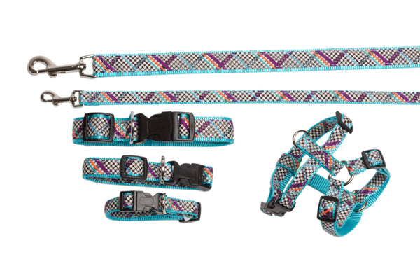 Signature Collection - Dog Collars, Harnesses & Leads - Milano Plaid