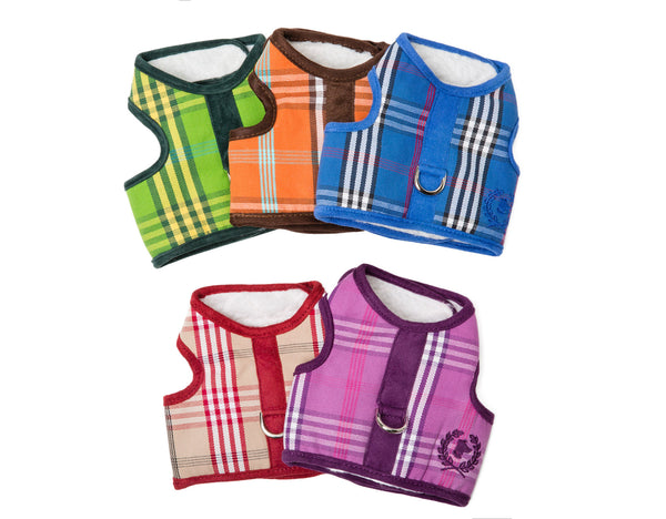 Signature Collection - Dog Body Harness Vest & Lead - SHERPA LINED - 5 Color Options