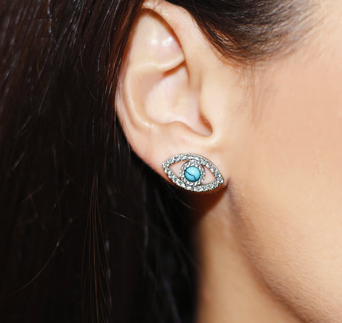 ZOUMA TURQUOISE EARRINGS