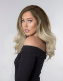 "BELLAMI BELL AIR 12"" 120g #8/60 BALAYAGE ASH BLONDE Hair Extensions"