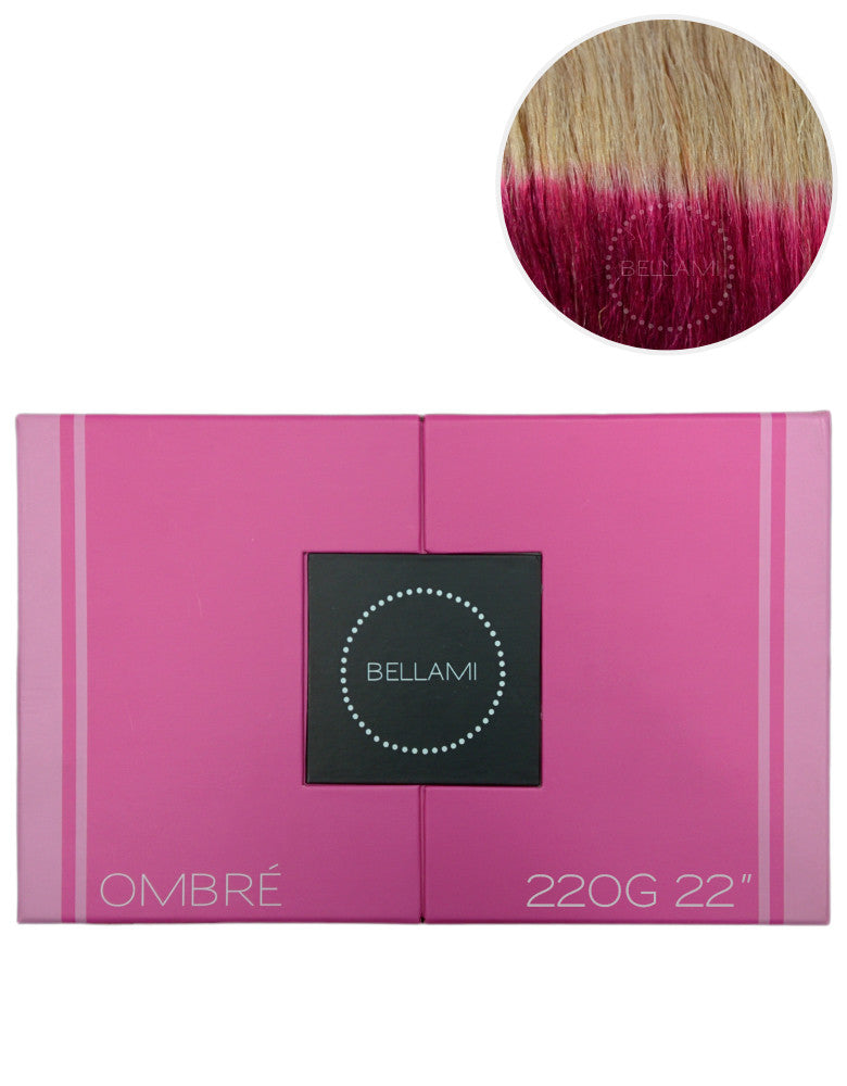 "BELLAMI 220g 22"" Ombre #18/Poisonberry"