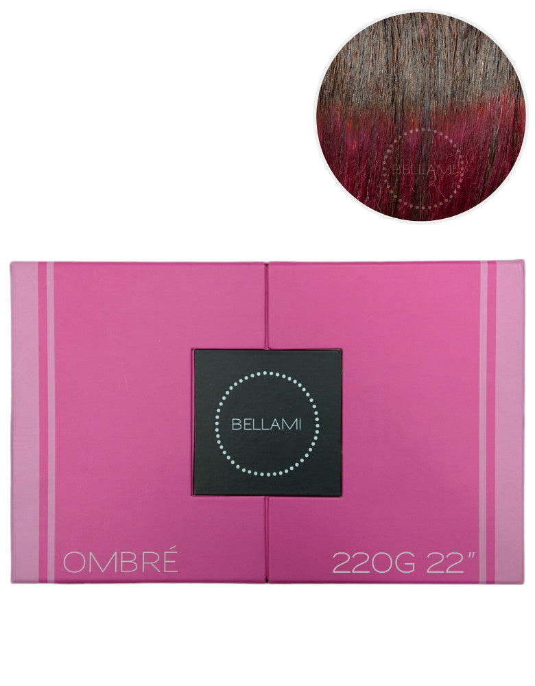 "BELLAMI 220g 22"" Ombre #2/Poisonberry"