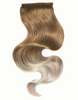 "BELLAMI It's A Wrap Ponytail 20"" 100g  Balayge Ash Brown and Ash Blonde (#8/#60) Human Hair"